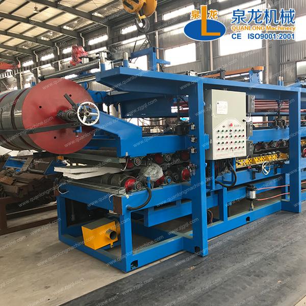 QLF多gong能夹芯板生产线